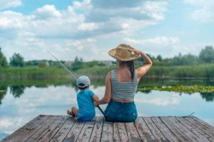 おひ釣りさま H2③ 親子釣り