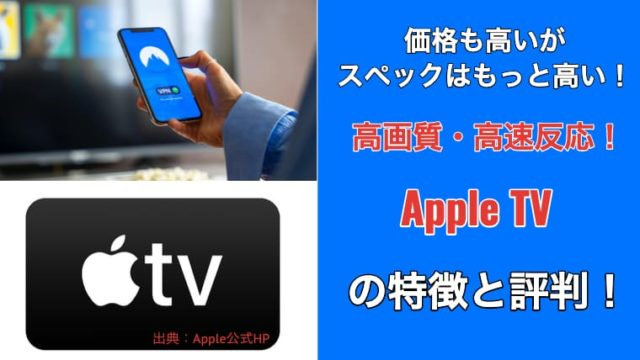 AppleTV アイキャッチ